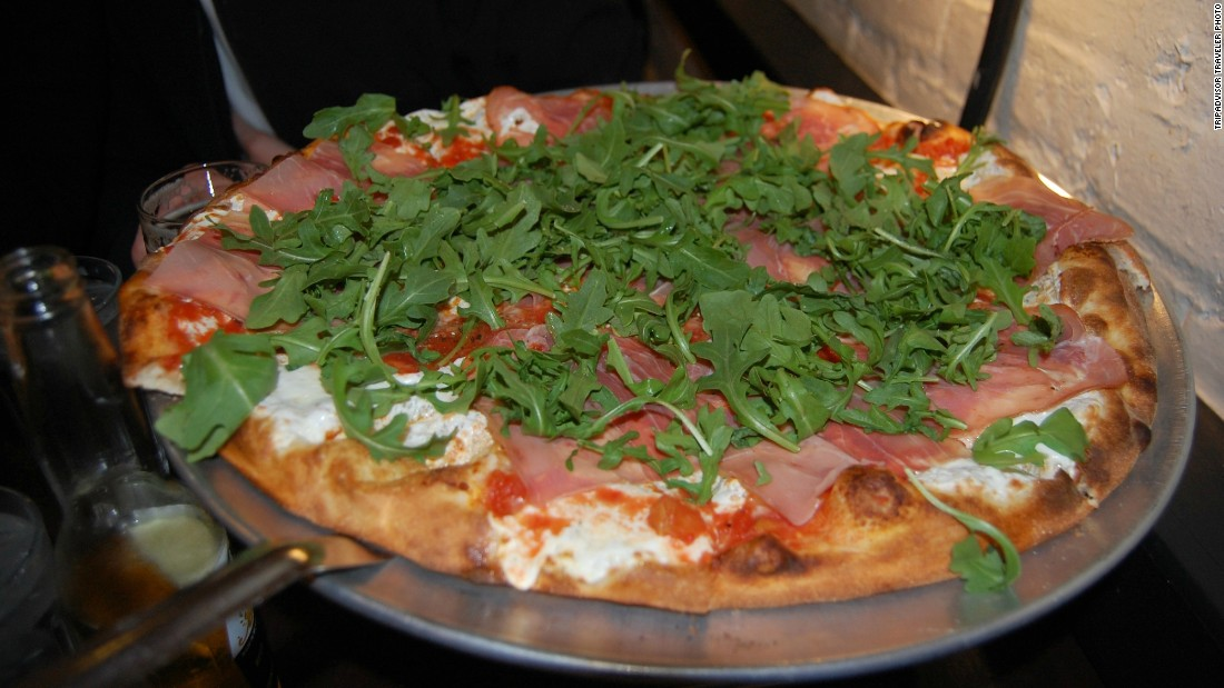 "<a href=""http://www.julianaspizza.com/"" target=""_blank"">Juliana's </a>is No. 1 on TripAdvisor's list of America's top 10 pizzerias. The travel site looked at the quality and quantity of user reviews to come up with the rankings. <br /><br /><br /><br /><br /><br />"