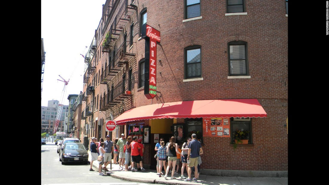 "In Boston's North End, <a href=""http://www.reginapizzeria.com"" target=""_blank"">Regina Pizzeria</a> has been turning out pies since 1926."