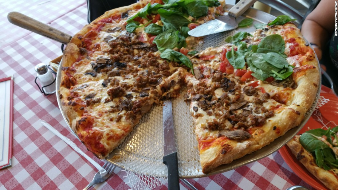 "At <a href=""http://www.billspizzapalmsprings.com"" target=""_blank"">Bill's Pizza</a>, sourdough crust is the foundation for tasty pies."