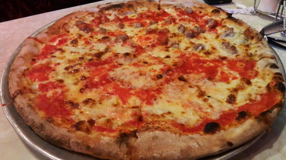 "<a href=""http://www.johnsbrickovenpizza.com/"" target=""_blank"">John's of Bleecker Street</a> turns out coal-fired brick-oven pizza."