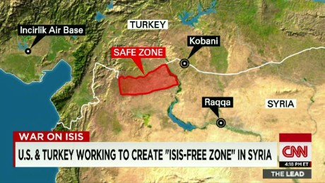 Turkey assistance ISIS fight Lead live Damon _00030212