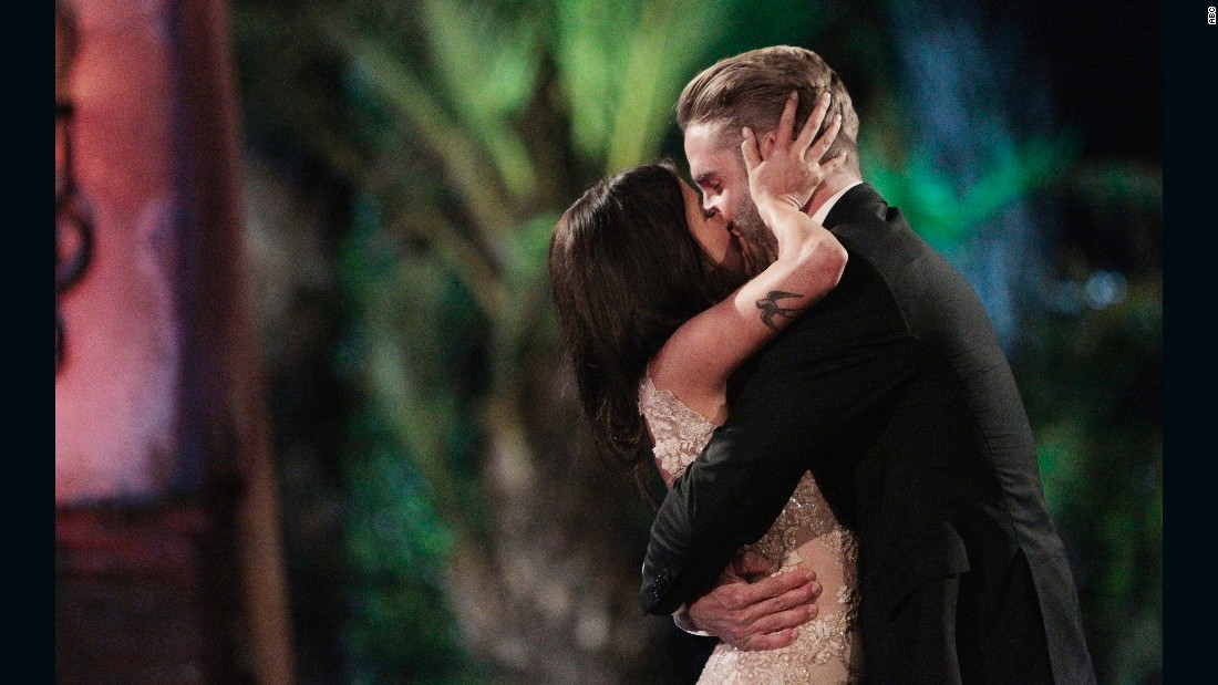 "It was a challenging season for former dance instructor Kaitlyn Bristowe, but in the end, she gave the final rose to personal trainer Shawn Booth on the finale of ""The Bachelorette"" in July. The couple is now engaged and <a href=""http://www.people.com/article/kaitlyn-bristowe-shawn-booth-moving-together-wedding-planning"" target=""_blank"">living together in Nashville.</a> Bristowe appeared on the 19th season of ""The Bachelor."""