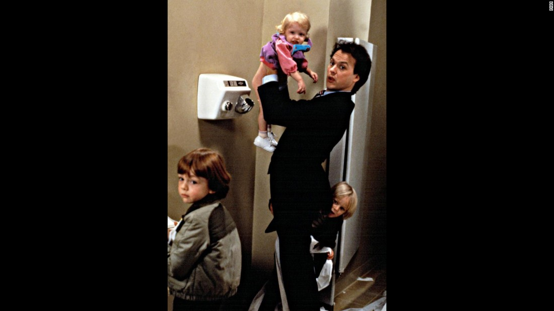 "<strong>""Mr. Mom""</strong>: Michael Keaton stars as a man who takes on the child-rearing duties when he gets laid off in this comedy. <strong>(Hulu) </strong>"