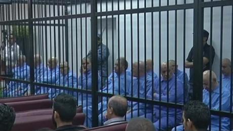 gadhafi son sentence to death pkg karadsheh pkg wrn_00001702