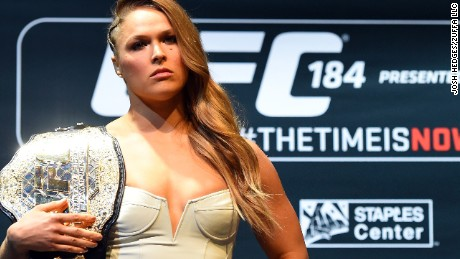 Ronda Rousey: 'I could beat Floyd Mayweather'