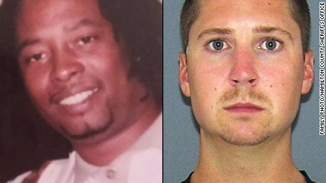 Samuel DuBose on left and Raymond Tensing, who has had two mistrials, on right.