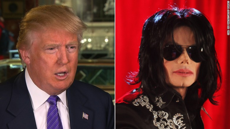 Donald Trump and Michael Jackson: A history