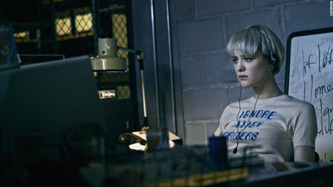 "Mackenzie Davis plays one of two female computer programmers on the AMC series ""Halt and Catch Fire."" She's one of the latest women in computer science portrayed on-screen."