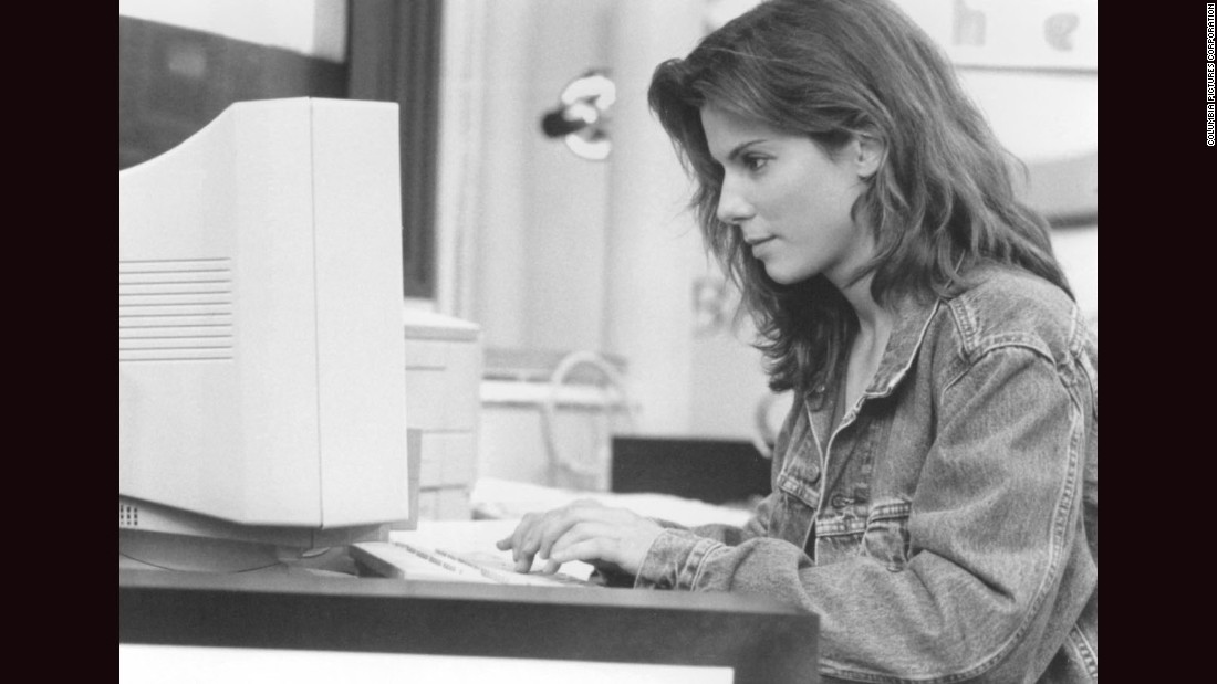 "One of the earliest movies about Internet culture, the psychological thriller ""The Net,"" starred Sandra Bullock in 1995."