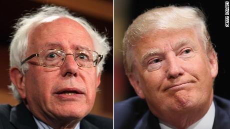 Trump: Sanders 'showed such weakness'