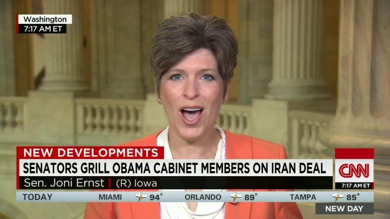 Ernst: Iran deal a 'pathway to nuclear armament'