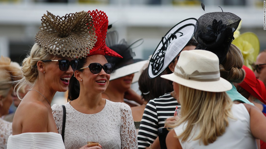"Fashion designer Tabitha Webb loves attending Ladies Day. ""It's such a lovely day and so many girls make such an effort to dress up and look so beautiful,"" she said."