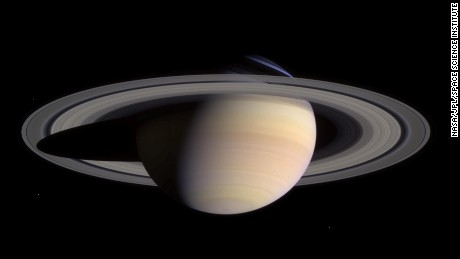 Saturn's rings, moons may be younger than the dinosaurs
