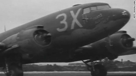 """The plane that led the D-Day invasion of Normandy, """"That's All Brother""""."""