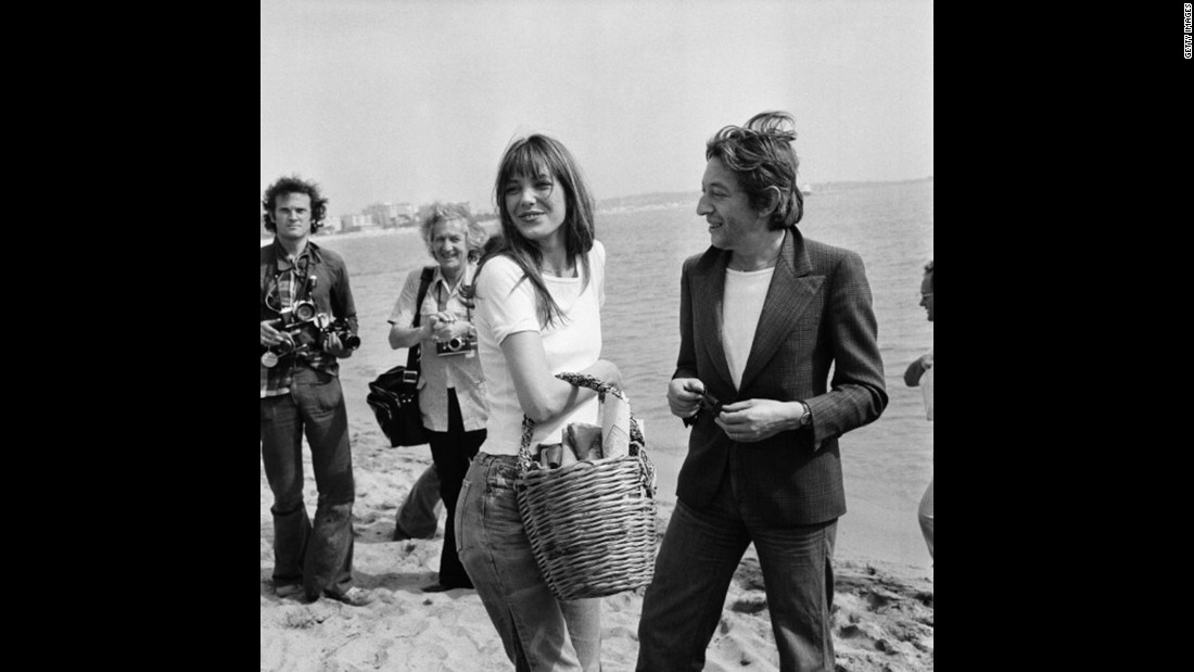 Before the Birkin Bag was introduced in 1981, Jane Birkin was most often photographed carrying a wicker basket, as a purse.