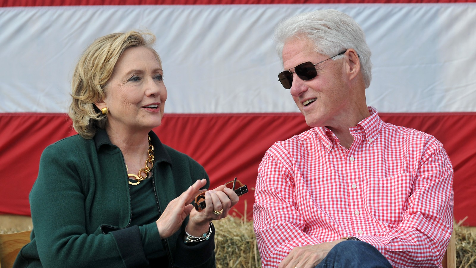 a biography of bill and hillary clinton In their respective capacities as a former president and a former first lady, bill and hillary clinton attended the inauguration of donald trump with their daughter,.