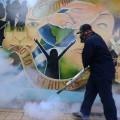 Dengue spraying public space