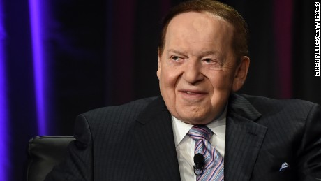 Las Vegas Sands Corp. Chairman and CEO Sheldon Adelson speaks at the Global Gaming Expo (G2E) 2014 at the Venetian Las Vegas on October 1, 2014 in Las Vegas, Nevada.
