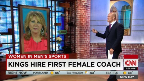 Sacramento Kings hire first female coach_00003220