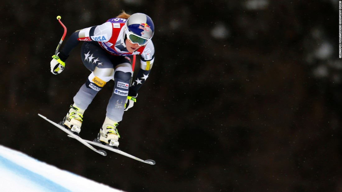 Lindsey Vonn became the first American woman to win the gold medal in downhill skiing at the 2010 Winter Olympics. She has also won four World Cup titles in her career to go with an Olympic bronze and six medals at the World Championships.