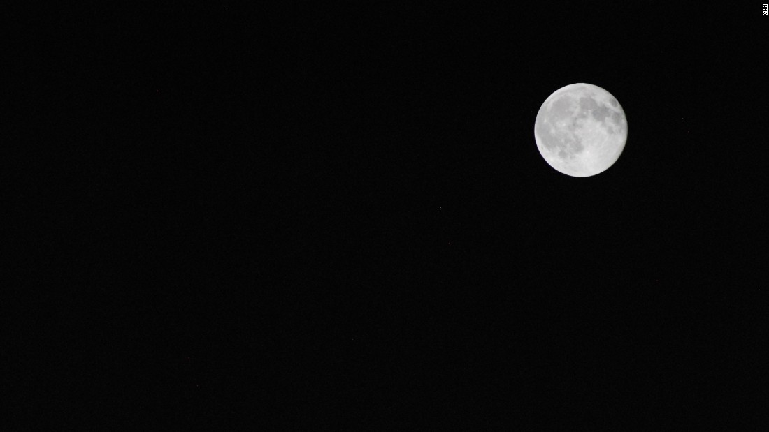 "<a href=""http://ireport.cnn.com/docs/DOC-1261290"">Miranda Royal </a>saw the moon on Friday night in Richmond, Texas."