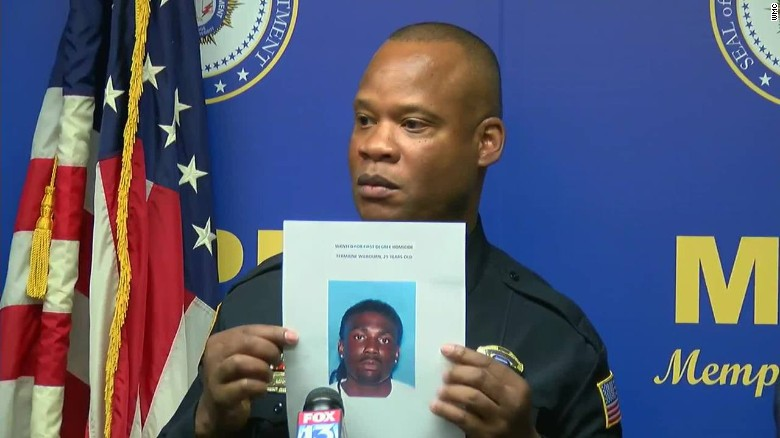 Police name suspect in shooting death of Memphis cop
