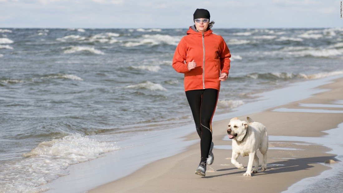 Once you and your dog get in the habit of exercising together, it can become a fun habit -- and they won't let you give it up, either. You can try going for a jog or a run together. Click through our gallery to learn about other fun ways to work out with man's best friend.