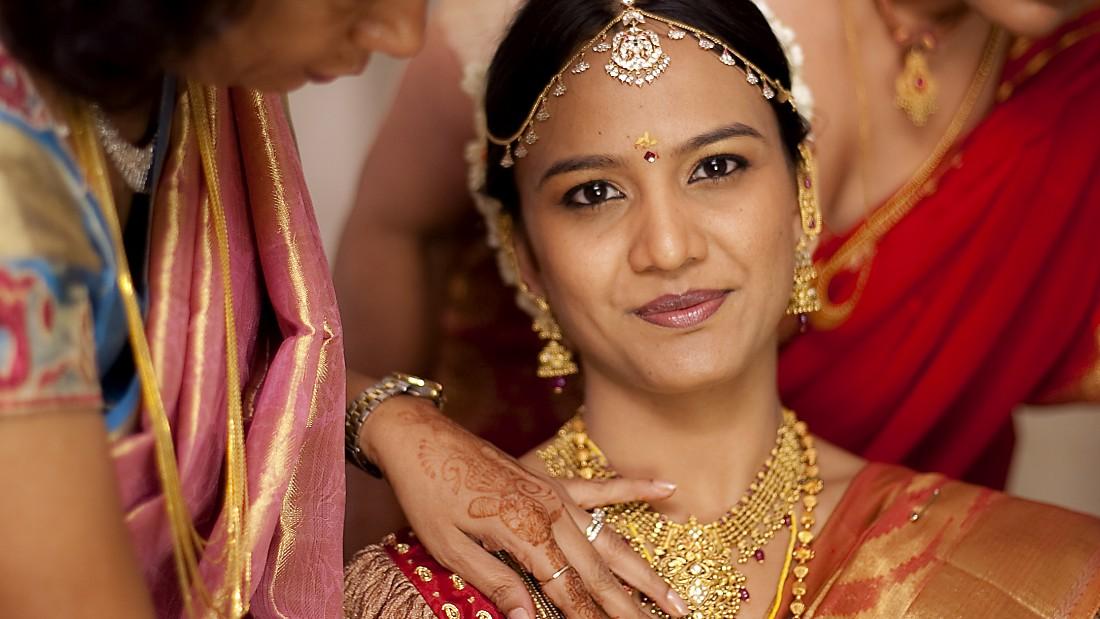 An Indian wedding.