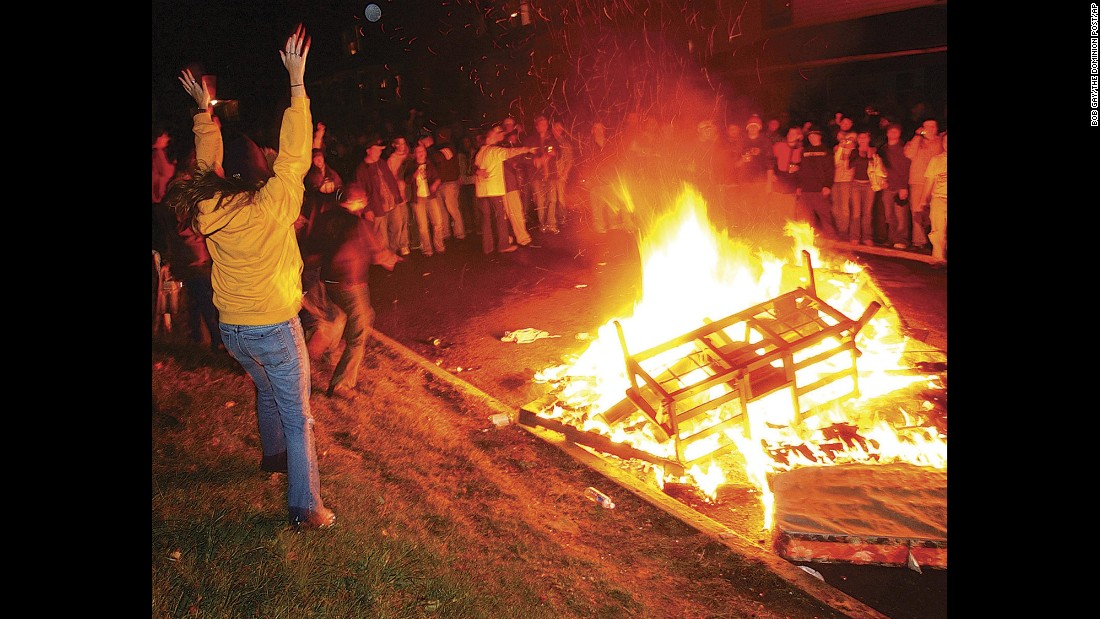 West Virginia University came in seventh on the Princeton Review's annual list of top party schools.
