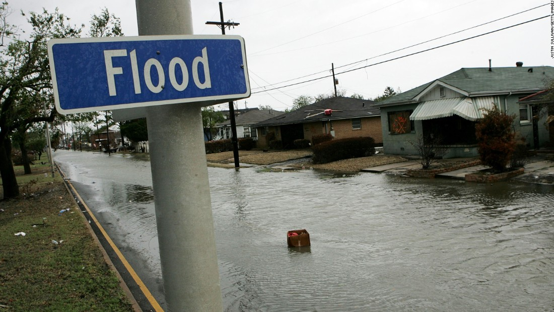 Flood Street, in New Orleans' Lower Ninth Ward, sustained 12 feet of flooding during Hurricane Katrina. Today it's home of the Running Bear Boxing Club.