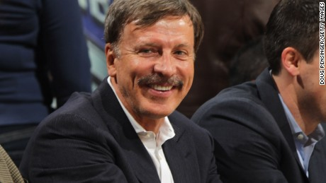 Stan Kroenke, seen here in 2011, has bought the famous Texas ranch.