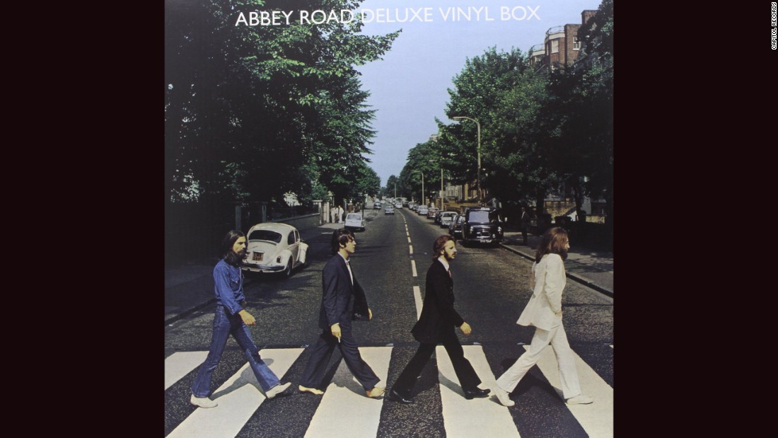 "<strong>""Abbey Road,"" the Beatles</strong>: Any number of Beatles albums could make this list, whether it's Robert Freeman's great cover for ""With the Beatles"" or the phantasmagoria of ""Sgt. Pepper's Lonely Hearts Club Band."" Yet 1969's ""Abbey Road"" features a <a href=""http://www.nme.com/photos/-abbey-road-31-tributes-and-parodies/269514#/photo/7"" target=""_blank"">much-parodied Iain Macmillan photograph</a> and showcases the band going out on top. No wonder <a href=""http://www.thebeatles.com/photo-album/recording-abbey-road"" target=""_blank"">they considered calling it ""Everest.""</a>"