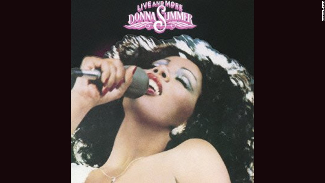 "<strong>""Live and More,"" Donna Summer</strong>: The Queen of Disco seldom looked more alluring than she did on the cover of her 1978 album. From the eyeshadow to the backlit hair, the picture was as exciting as Summer's songs."