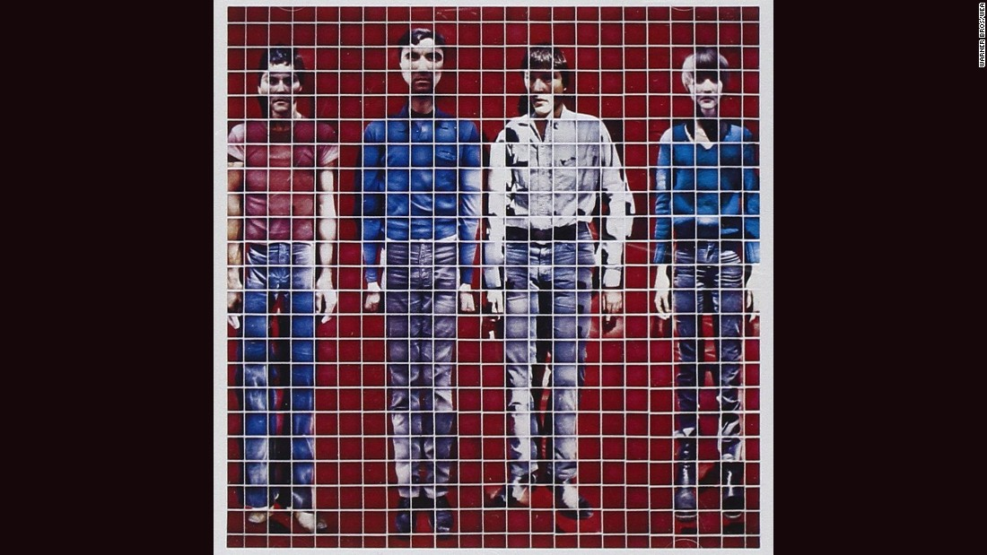 "<strong>""More Songs about Buildings and Food,"" Talking Heads</strong>: This most artistic of bands -- in fact, they were once called ""the Artistics"" -- liked artsy album covers. 1978's ""Buildings and Food"" cover consisted of a band portrait constructed with Polaroids. Jimmy De Sana did the work."
