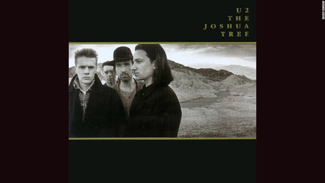 "<strong>""The Joshua Tree,"" U2</strong>: A band known for big statements went truly expansive for its 1987 album, posing in California's Death Valley in a panoramic shot by Anton Corbijn. The photos were taken in December, so if you think U2 looks serious because they're cold, you're right."