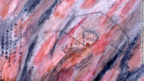 Drawings show haunting memories of Hiroshima