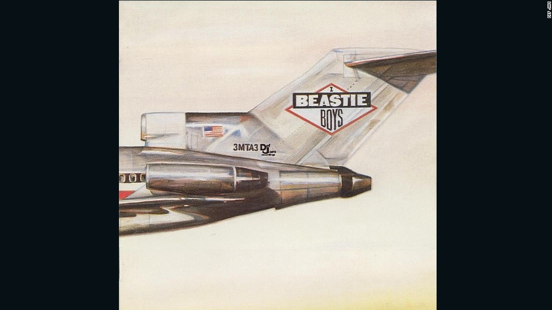"<strong>""Licensed to Ill,"" the Beastie Boys</strong>: CDs and MP3s can't approach the versatility of the LP album cover in its expansiveness. From the front, the Beasties' 1986 debut looks like the tail section of a plane. Open the cover, though, and you see the picture is continued on the back ... <a href=""http://mimg.ugo.com/200808/16335/Licensed-to-ill.jpg"" target=""_blank"">with the plane crashed into a mountainside</a>. Art by World B. Omes."