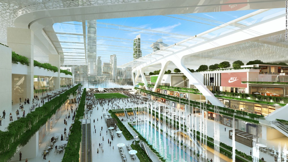 It wouldn't be Dubai if it didn't have plenty of shopping opportunities. The Meydan One Mall will have more than 540,000 square meters of retail outlets.