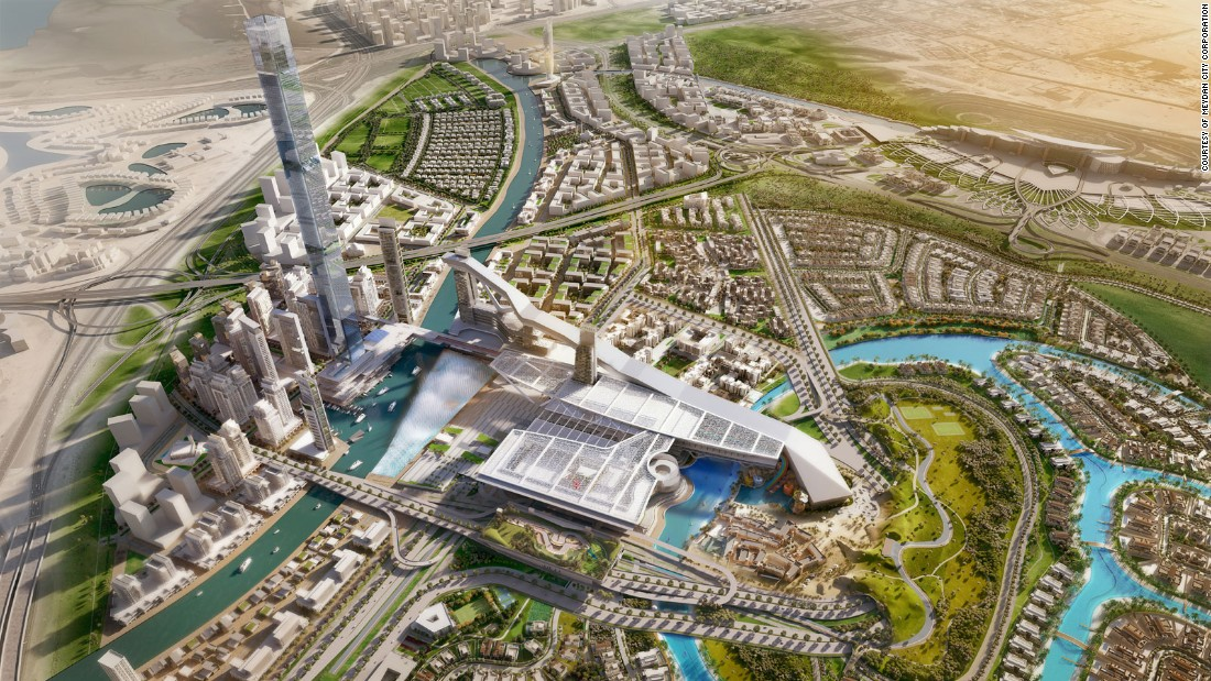 The billion-dollar project, dubbed Meydan One, is scheduled for completion by 2020, in time for the UAE-hosted World Expo 2020.