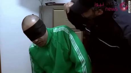 saadi gadhafi torture video libya karadsheh pkg_00003428