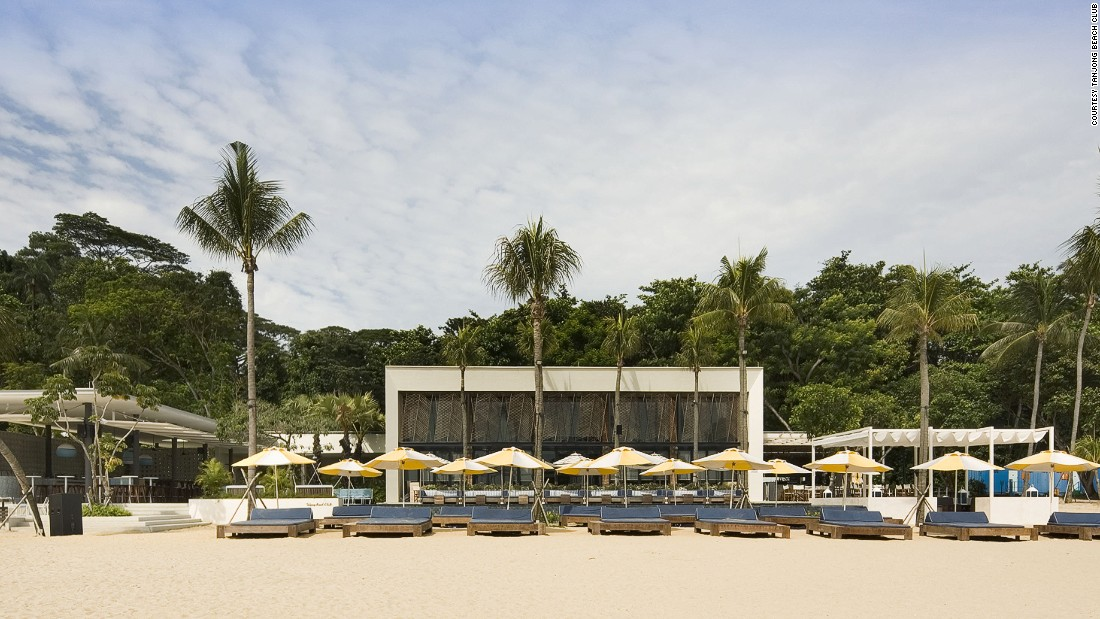 One of the world's best beach bars, Tanjong Beach Club draws models, bankers and beach bums. At night, DJs play to an energetic crowd who like to feel the sand between their toes as they dance.
