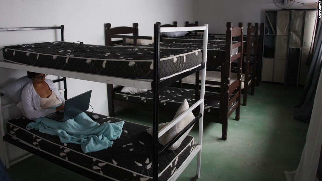 A bed in a shared room at Rio's Hostel Alto Vidigal starts at 21 reais, ($6) a night.