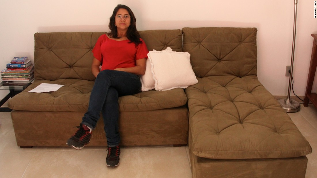 """My boyfriend had the idea of renting my apartment, but I wasn't convinced,"" says Milvvia Goncalves, who put her two-bedroom home in Rio's Cantagalo neighborhood on Airbnb. ""I thought who's going to come to a favela? But it was nonsense! Tons of foreigners love to stay here."""