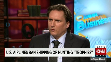 exp Chris Green, Animal Legal Defense Fund, discusses the transport of hunting trophies_00002001