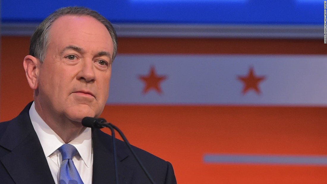 "<a href=""http://www.cnn.com/interactive/2015/05/politics/2016-election-candidates/#Huckabee"">Mike Huckabee</a> is a former Arkansas governor and Southern Baptist minister. He hosted a TV show, ""Huckabee,"" which ran on Fox News from 2008-2015."