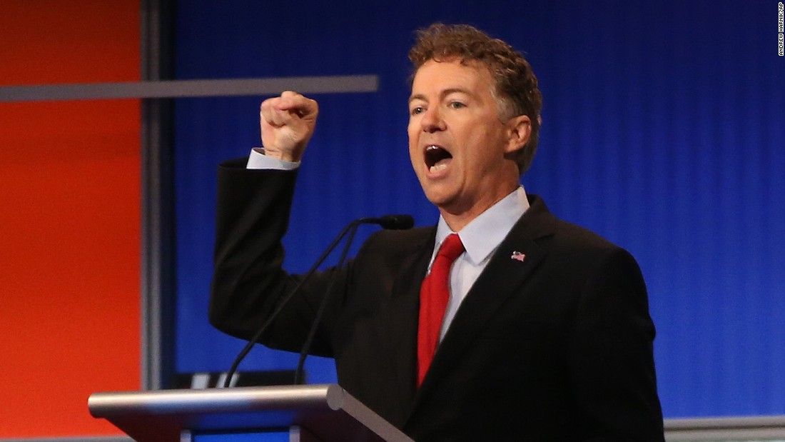 "Kentucky Sen. <a href=""http://www.cnn.com/interactive/2015/05/politics/2016-election-candidates/#Paul"">Rand Paul</a> has been in office since 2011. Paul also worked on the congressional and presidential campaigns for his father, former U.S. Rep. Ron Paul. Rand Paul gained national attention by riding the 2010 tea party wave to become the junior U.S. senator from Kentucky following a tough battle in the GOP primary."