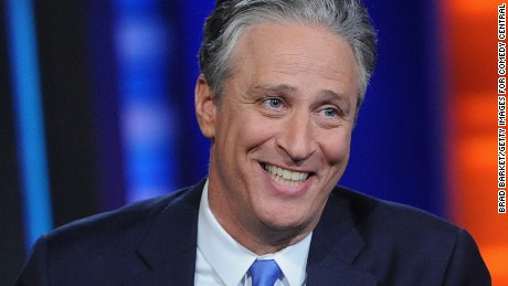 "NEW YORK, NY - AUGUST 06:  Jon Stewart hosts ""The Daily Show with Jon Stewart"" #JonVoyage on August 6, 2015 in New York City.  (Photo by Brad Barket/Getty Images for Comedy Central)"