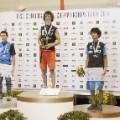 Gijon podium