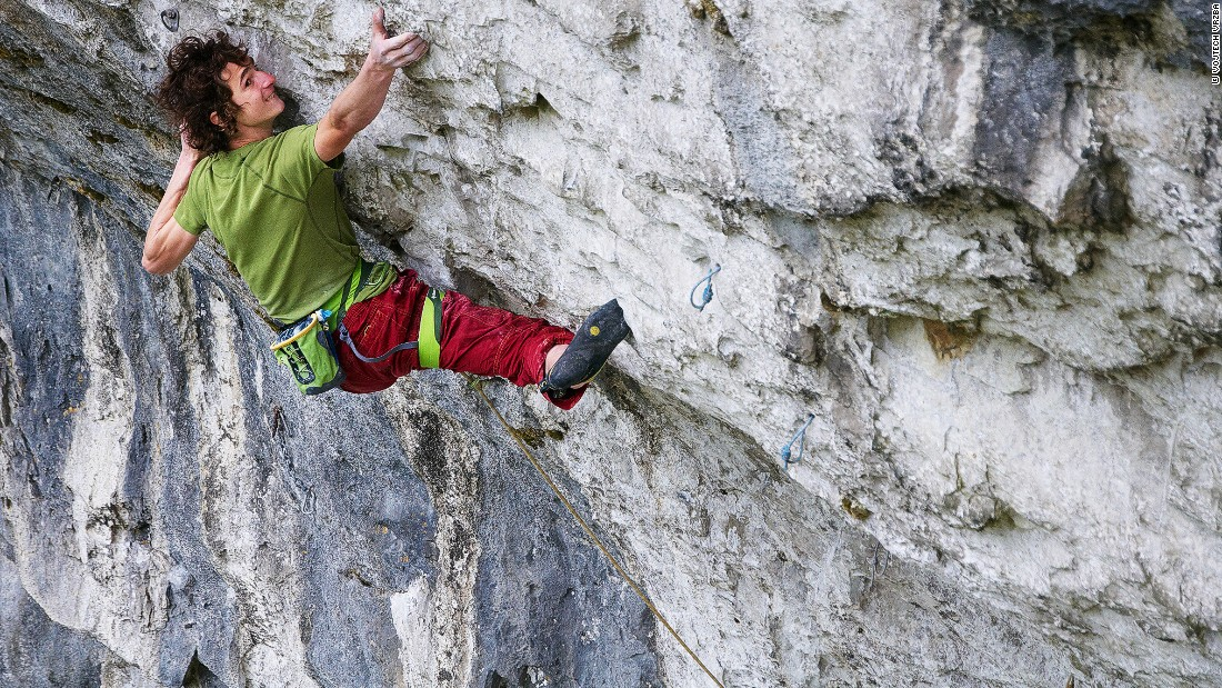 'I am pretty much living the dream. I decided when I was 17 years old that I wanted to be a professional climber and now I am pretty much doing exactly what I dreamed about.""