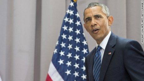 U.S. President Barack Obama arrives to deliver remarks on the nuclear deal reached with Iran at American University in Washington, D.C., August 5, 2015.